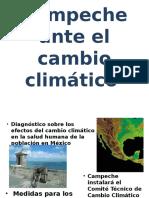 Campeche Ante El Cambio Climático