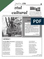 Răsunetul Cultural septembrie 2016