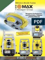 2014 Catalogo GeoMax Equipo Topografico