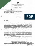 TJMA Plano Diretor Falta Publicidade Processo Legislativo