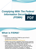 FISMA Presentation
