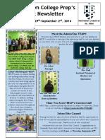 Newsletter - Week 3