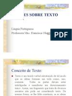 Noções Basicas de Texto