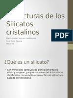 Estructuras de Los Silicatos Cristalinos