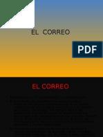 trabajo de español power point el correo