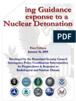 Planning Guidance for Response to a Nuclear Detonation - Final