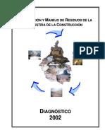 Diagnóstico Manjeo de Resíduos Sólidos producto de la Construcción