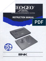 91 Neo Geo AES US-Manual