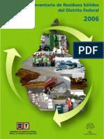 Inventario Residuos Solidos de la Ciudad de México 2006