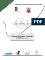 Caderno3 - Politicas Públicas - SOFTWARE LIVRE