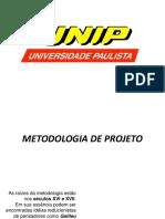 Aula 02 - Metodologia Projeto de Objeto