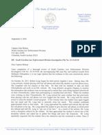 SLED Investigative File No. 32-15-0130 - Spring Valley Matter