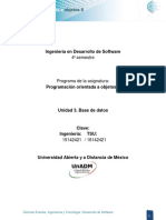 Unidad 3 Base de Datos