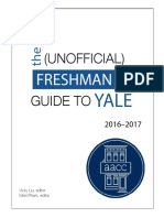 (AACC PL) Unofficial Guide to Yale 2016-17