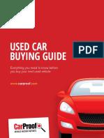 Carproof Used Car Buying Guide