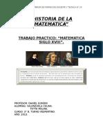 Historia de La Matematica Tp 2013