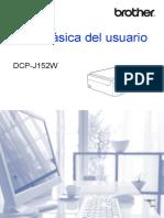 Brother DCP-J152W - Guía Básica Del Usuario