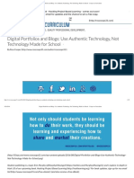 FWP Digital Portfolios and Blogs_ Use Authentic Technology, Not Technology Made for School - Cooper on Curriculum.pdf