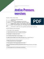 Demonstrative Pronouns 72222860910608
