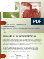 Unidad 2 Segunda Ley de La Termodinamica