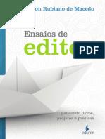 Ensaios de Editor