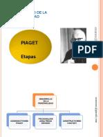 Psicologia del  Desarrollo. Etpas Piaget, V