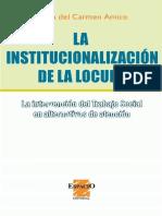 La institucionalización de la locura la intervención del traba