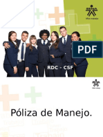 Poliza de Manejo Fial
