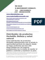 RAFAEL MOLINA SALAS; Herbalife Vidaenhierbas
