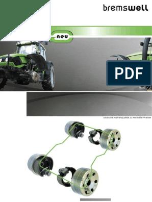 Bremsbacke 04389852 Deutz D3005 D3006 D4005 D4006 D4506 D5005 D5006 D40