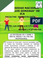 La Sociedad y La Cultura