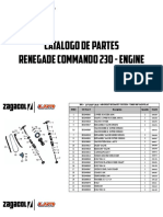 Zagacol Catalogo de Partes Um Renegade Commando Engine