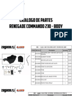 Zagacol Catalogo de Partes Um Renegade Commando Body