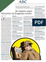 Articulo Espias Cni España