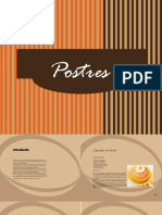 Catalogo de Postres