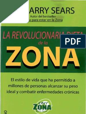 Dieta de la zona pdf gratis