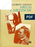 Paul-Laurent Assoun - Freud y Nietzsche