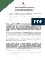 Nota de Prensa Convocatoria de Becas de La FC 2016