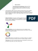 Tipos de colores.doc