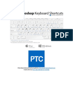 Ptc Photoshop Shortcuts