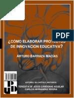 Como Elaborar Proyectos de Innovacion