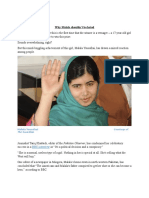 News Analysis - Malala