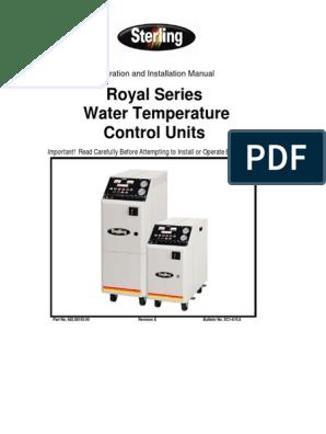 682 88105 00 SC1-610 8 Royal Series TCU OI Manual pdf