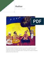 The Vedic Shakhas