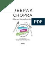 DeQueTienesHambre-DeepakChopra