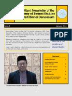 Academy of Brunei Studies Newsletter