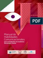 Manual de Habilidades Comunicacionales_Psicología Médica - CSE UDELAR - 2015_ISBN