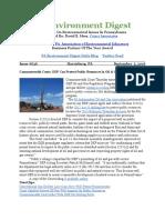Pa Environment Digest Sept. 5, 2016