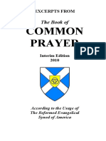 Excerpts From the Book of Common Prayer