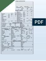 A-1 API sheet